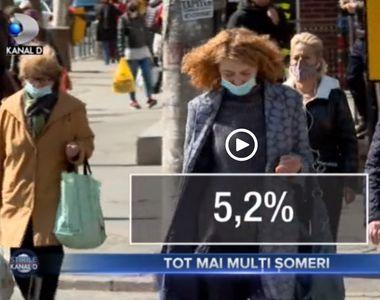 VIDEO - Tot mai mulți români în șomaj, din cauza pandemiei