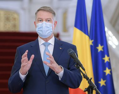 Klaus Iohannis și premierul Florin Cîțu, declarații de ultimă oră la Institutul...