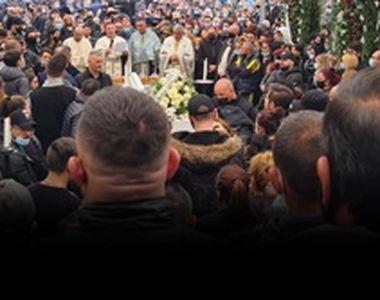 VIDEO-Înmormântarea nepotului unui interlop,sfidare totală a pandemiei