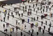 VIDEO - Imagini ireale la Miercurea Ciuc, de Paștele Catolic. Cum au asistat credincioșii la slujbă