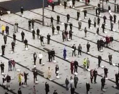 VIDEO - Imagini ireale la Miercurea Ciuc, de Paștele Catolic. Cum au asistat...