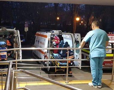 Un polițist a ajuns la Urgențe după ce a fost rănit la cap. S-au tras focuri de armă