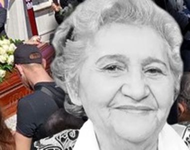 VIDEO-O mână de oameni a condus-o pe ultimul drum pe Gabi Luncă