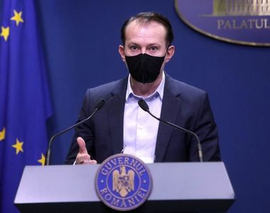 """Premierul Florin Cîțu: """"Mergem în direcția relaxării, cu o condiție"""""""