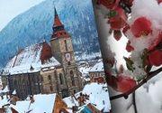 VIDEO - La jumătatea primăverii, iarna s-a întors în forță în România
