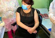 Prima vaccinare împotriva COVID-19 în cabinetul unui medic de familie din România