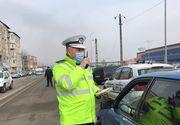 Un minor în vârstă de 14 ani a fost prins de polițisti în timp ce conducea un autoturism