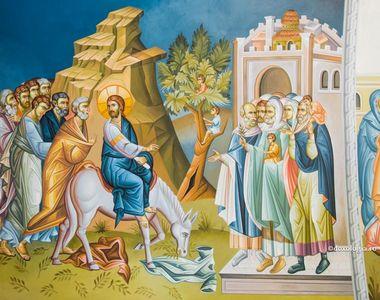 Intrarea Domnului in Ierusalim. Ce semnificație are sărbătoarea floriilor