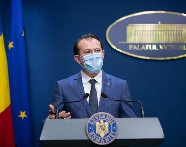 """Florin Cîţu: """"Mai avem doar şase locuri libere la ATI. Vaccinarea este singura..."""