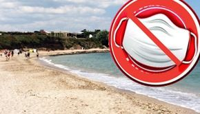VIDEO | Fără mască pe plajă, de la 1 mai