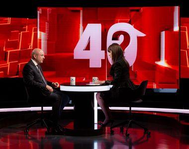 """Cozmin Gușă, aseară la """"40 de întrebări cu Denise Rifai"""", a vorbit despre umilințele..."""