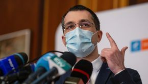 """Vlad Voiculescu, atac la Florin Cîțu: """"Premierul s-a transformat în primul epidemiolog al țării"""" (VIDEO)"""
