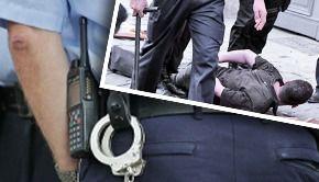 VIDEO -Moarte șocantă. Un bărbat imobilizat de poliție a decedat subit