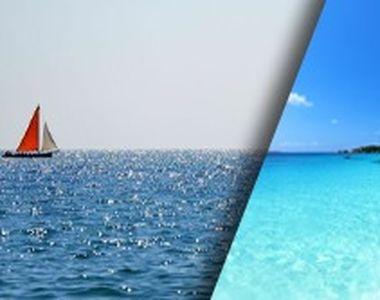 VIDEO-Marea Neagră, culoare albastru turcoaz ca în insulele Seychelles