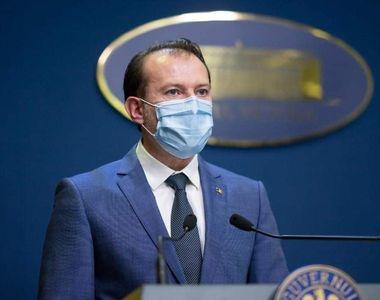 Florin Cîțu anunță că nu dorește ca România să mai intre în lockdown total