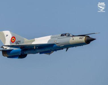 Un avion MIG-21 al Armatei s-a prăbușit în județul Mureș. Ce s-a întâmplat cu pilotul