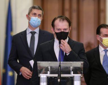 """Premierul Florin Cîțu, primul anunț după """"pacea"""" din coaliția de guvernare...."""