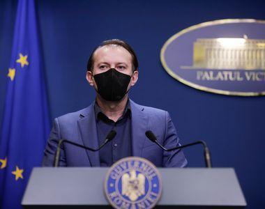 Florin Cîțu, despre renunțarea la masca de protecție