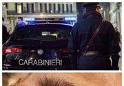 Patru poliţişti italieni,  bătuţi crunt de un tânăr de 21 de ani din România (VIDEO)