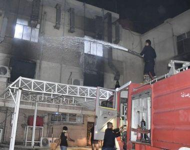 Tragedie de Florii. 83 de morți într-un incendiu la ATI, într-un spital COVID-19