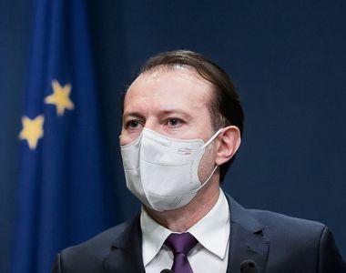 """Florin Cîțu: """"Suntem, în ceea ce priveşte pandemia, pe o pantă descrescătoare a acestui..."""