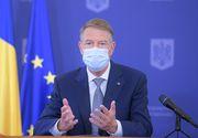 """Președintele Klaus Iohannis, conferință la Palatul Cotroceni. """"Am depășit vârful acestui val epidemiologic"""" (LIVE VIDEO)"""