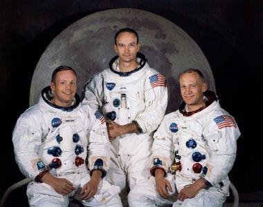 Unul dintre astronauții de pe misiunea Apollo 11 a murit