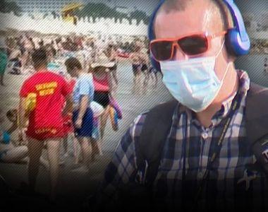 VIDEO  Românii se înghesuie la mare, de 1 Mai