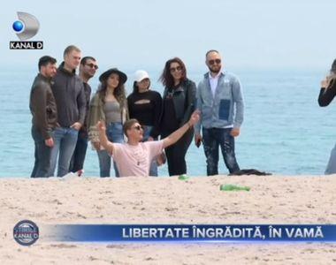 VIDEO - Libertate îngrădită pe litoral, în minivacanța de Paște