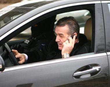 Gigi Becali a rămas fără permis în timp ce gonea la înmormântarea părintelui Daniil de...