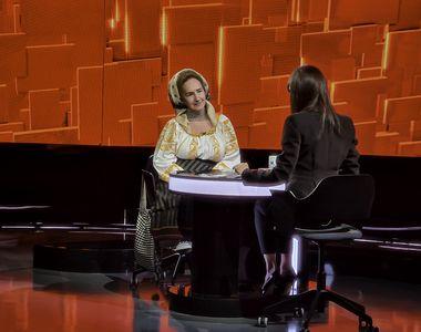 """Sofia Vicoveanca, în această seară, la """"40 de întrebări cu Denise Rifai"""": """"Am un an  și..."""