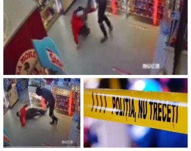 Scene șocante într-o benzinărie din România. Un tânăr a fost înjunghiat de mai multe...