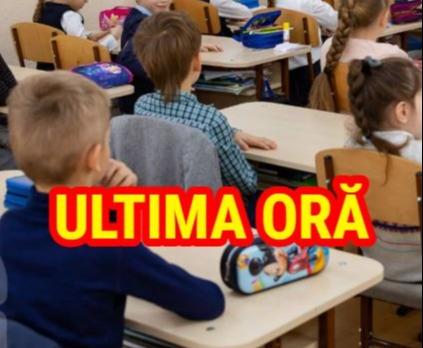 ANUNŢ ŞOC de ultimă oră pentru elevii din România. Mesajul transmis de ministrul Sănătăţii, în miez de noapte. Ce urmează