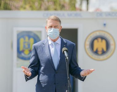 """Klaus Iohannis, mulțumit de campania de vaccinare. """"Am renunțat la toată..."""