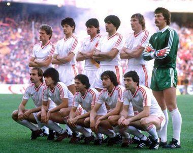 Imagini memorabile de la meciul Steaua-FC Barcelona din 7 mai 1986. Meciul care a adus...