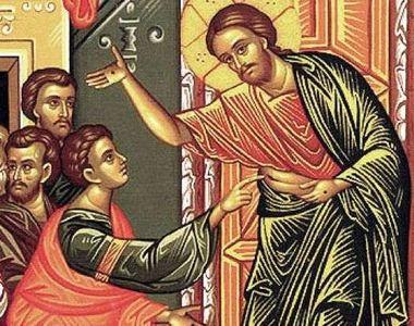 Duminica Tomii 2021. Sărbătoare mare în calendarul creștin ortodox. Ce se face în...