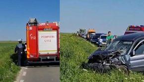 Accident devastator în Constanța. Cinci victime în urma impactului