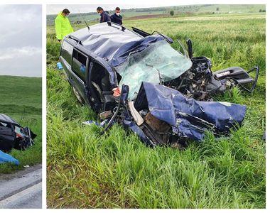 Tragedie uriașă. Patru persoane au murit pe loc după ciocnirea frontală a mașinii lor...