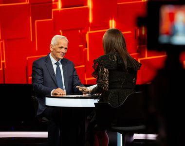 """Theodor Stolojan vine marți, la """"40 de întrebări cu Denise Rifai"""". Fostul premier al..."""