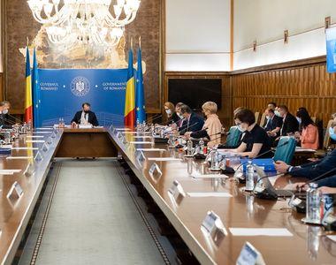 Ședință de Guvern pentru aprobarea noilor măsuri de relaxare din 15 mai