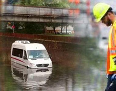 VIDEO-Inundațiile din Satu Mare. Dimensiunea dezastrului văzută de sus