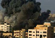 VIDEO - Fâșia Gaza, bombardată cu 1.000 de bombe de forțele Israelului