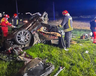 Detalii șocante din accidentul cu Maserati în care și-au pierdut viața trei tineri....