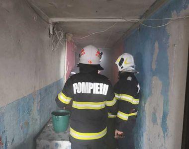 Incendiu de ultima oră. 28 de persoane, dintre care zece copii, au fost evacuate de...
