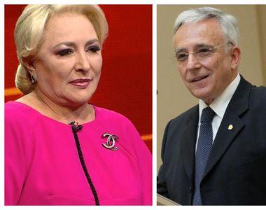 Viorica Dăncilă, consultant pe strategie al guvernatorului BNR, Mugur Isărescu. Primele...