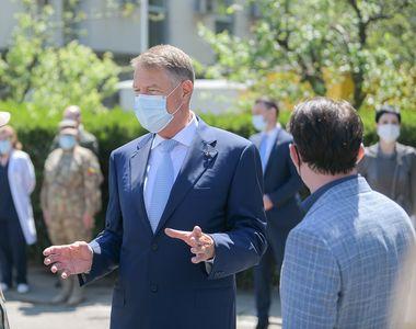 """Klaus Iohannis: """"Campania de vaccinare merge bine. Trebuie să aducem vaccinul mai..."""