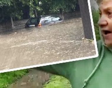 VIDEO - În Bihor, în doar câteva ore a plouat cât în luni de zile. Cod roșu