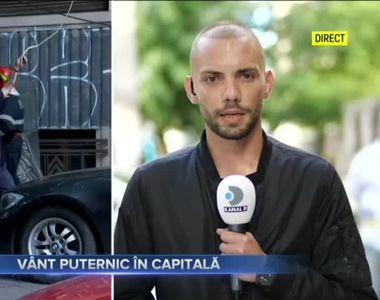VÂNT PUTERNIC ÎN CAPITALĂ