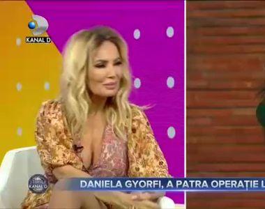 VIDEO - Momente de panică pentru Daniela Gyorfi - o proteză de silicon s-a spart