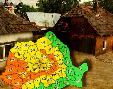 VIDEO - Dezastru în Bihor în urma potopului care a adus inundații de cod roșu